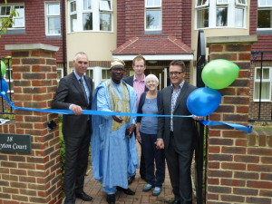 ribbon cutting in Mitcham