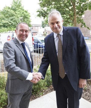 David Fox and Councillor Philip Corthorne