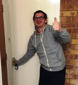 Darren Moves In To Cavell House