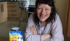 Customer Christine in her kitchen